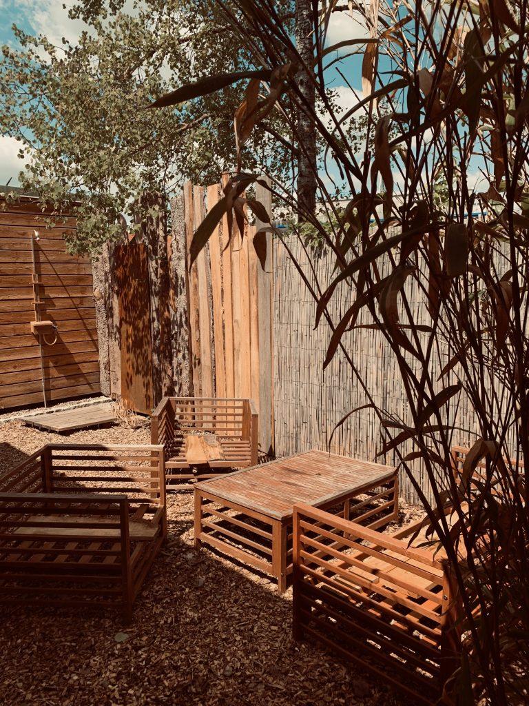 Wellnessbereich mit Sauna
