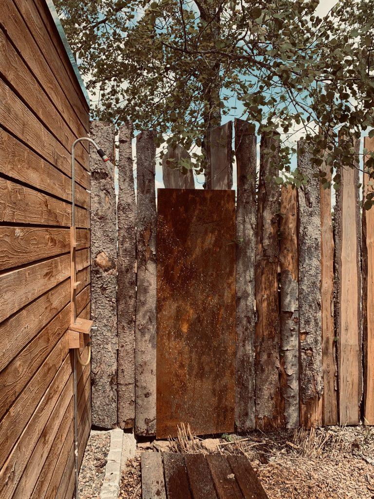 Sauna Outdoordusche