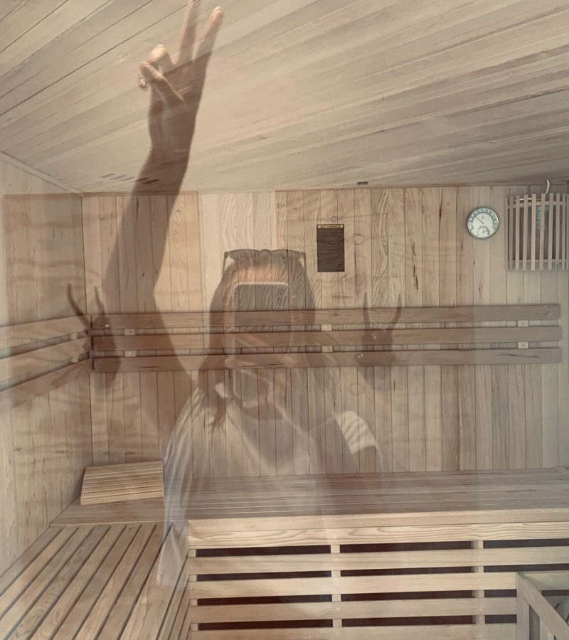 Haus am See mit Sauna
