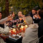 Outdoor Dinner Party by Jill Chen - People, Party - Stocksy United