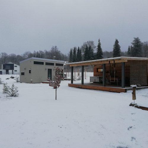 Camping Winter Bayern